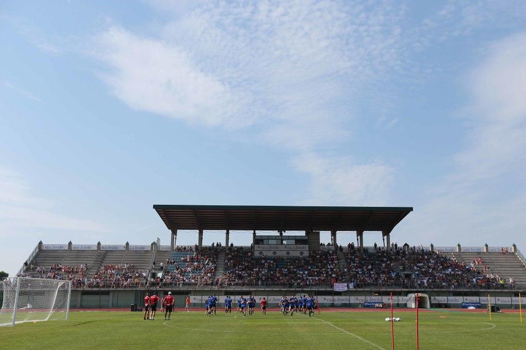 Sydney FC Allenamento mattutino allo stadio Armando Picchi di Jesolo